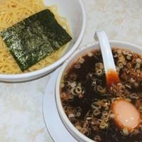 「つけめん(750円)+煮たまご(100円)」@弘前軒の写真