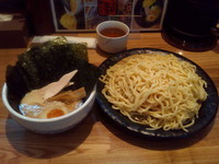 「のりたまつけ麺 醤油 中盛」@つけ麺 ががちゃい 中山店の写真