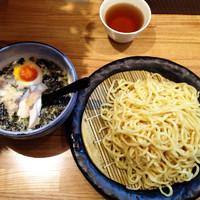 「たまつけ麺(塩) 780円」@つけ麺 ががちゃい 中山店の写真