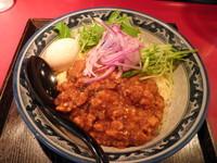 「【夏季限定】 ジャージャー麺790円+味玉(クーポン)」@麺匠 佐蔵の写真