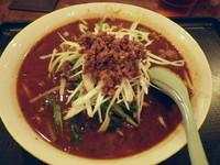 「黒ゴマタンタン麺」@福縁酒家の写真
