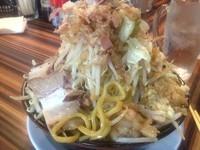 「カレーラーメン 700円」@ラーメン・つけ麺 笑福 大阪西中島店の写真