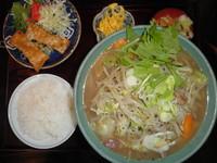 「日替わり麺定食 700円」@食事処 みつよしの写真