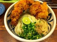 「HG2 鶏天すだち醤油 (500円)」@こくわがたの写真