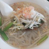 「越南湯麺(ベトナムフォー・塩)¥924(税込)」@百香亭 牛久店の写真