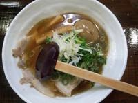 「ネギ玉チャーシュー麺+メンマ(クーポン)750円」@麺場 風麟の写真