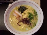 「鶏ラーメン塩650円」@いーらぐーらの写真