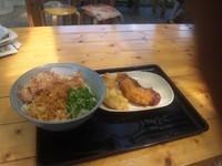「生醤油うどん(中)410円」@京都のおうどん屋さん たなか家の写真