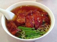 「パイコーメン」@中国料理 東園の写真