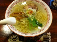 「中華そば 塩+α」@酒・麺処 らん亭の写真