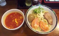 「【限定】 冷製トマトつけ麺:950円」@らぁめん 葉月の写真