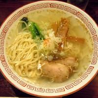 「中華そば・塩 ¥600」@酒・麺処 らん亭の写真