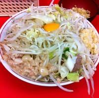 「【期間限定】汁無し(¥700)+生姜(¥50)」@ラーメン二郎 仙台店の写真