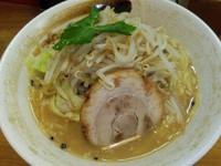 「野菜山賊麺750円」@上州山賊麺 大大坊の写真