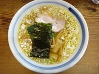 「拉麺+焼餃子(600円+450円)」@一圓の写真