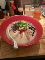 「チャーシュー麺 赤 大」@博多 一風堂 諏訪インター店の写真