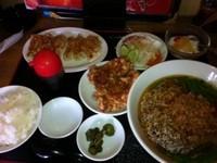 「焼き餃子定食¥880(台湾ラーメン)」@台湾料理 天福の写真