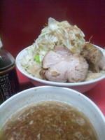 「つけ麺大盛り(全マシ)」@ラーメン二郎 大宮店の写真