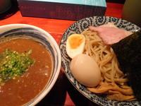 「鶏魚介煮干しつけ麺(300g)800円+味玉100円」@喜元門 つくば東光台店の写真