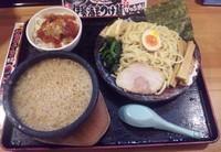 「濃厚豚骨伊勢海老つけ麺:777円」@竹本商店★つけ麺開拓舎の写真