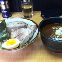 「カレーつけ麺【930円】」@麺屋 中の写真