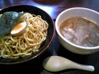 「魚介豚骨つけ麺+大盛り(50円)」@麺匠 えい蔵の写真