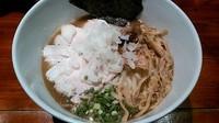 「鶏魚介煮干+チャー増」@喜元門 つくば東光台店の写真