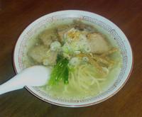 「中華そば 塩 + チャーシュー」@酒・麺処 らん亭の写真