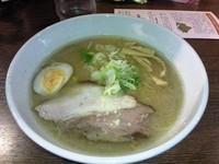 「味噌ラーメンハーフ」@らーめん空 札幌ら~めん共和国店の写真