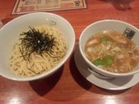 「つけ麺(塩,中盛)800円」@麺屋二八の写真