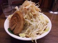 「雷そばライト 並 野菜増し」@雷 本店の写真