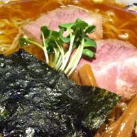 「醤油ラーメン+大盛り」@子竜の写真