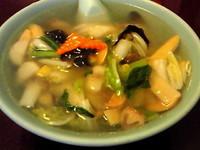 「野菜そば ¥830」@清華園の写真