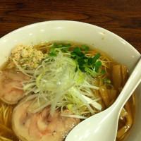 「鶏そば(塩)大盛」@あさか 麺工房、 朝霞本店の写真