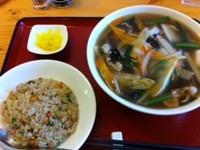 「日替わりBランチ¥900 (五目汁そば+焼飯)」@華風菜苑 豊韻の写真