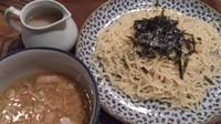 「味噌つけめん_750円」@炭火七輪 暖 大塚店の写真