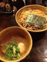 「ベジポタ味玉入り つけ麺(極太胚芽麺)900」@つけ麺 えん寺 吉祥寺総本店の写真
