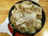「ド根性の醤油 麺男盛+肉盛」@神戸ちぇりー亭 宝塚店の写真