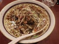 「肉細切り高菜らー麺」@中華ダイニング 好鴨の写真