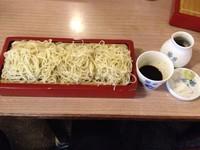 「御前更科蕎麦 ¥1,050」@布恒更科の写真