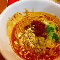 「汁なし担々麺。」@功夫担担の写真
