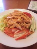 「四川風冷麺 750円」@中華料理 美山飯店の写真