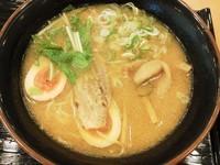 「炙り麦豚味噌ラーメン」@炙りチャーシューラーメン 口福軒の写真