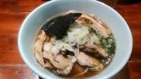 「苦煮干(塩)+肉増し2枚」@喜元門 つくば東光台店の写真