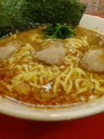 「健康 黒酢ラーメン(並)」@ラーメンショップ 福橋店の写真
