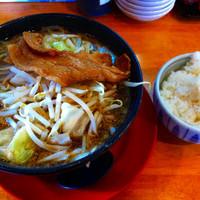 「ド根性の醤油+Aセット」@神戸ちぇりー亭 宝塚店の写真