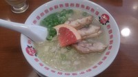 「鶏パイタン麺+替玉(¥680)」@太陽のトマト麺 護国寺支店の写真
