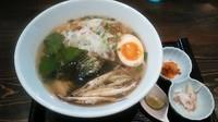 「AOI秋味+茶漬けセット」@麺や 蒼 AOIの写真