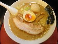 「道三・大盛+味玉(クーポン) 850円」@麺将 武士の写真