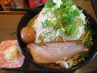 「いぶき800円+味玉(クーポン)」@麺工房 いなせの写真